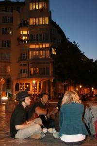 Partymeile im Wohnviertel  Foto: rsp