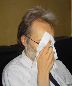 Schnief! Das wird doch hoffentlich keine Schweinegrippe sein?  Foto: psk