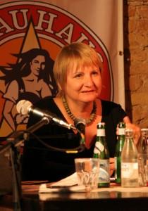 CDU-Kandidatin Vera Lengsfeld im KuK-Redaktionsgespräch  Foto: rsp
