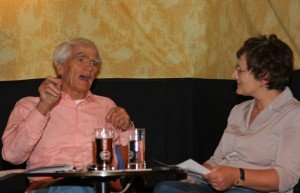 Grünen-Kandidat Hans-Christian Ströbele im KuK-Redaktionsgespräch  Foto: rsp