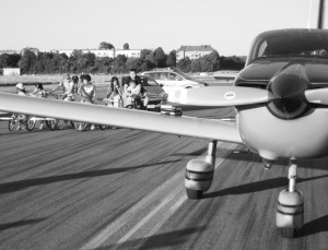 Socata TB 10 landete in Tempelhof