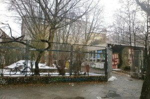 Viel Platz für Initiativen: Aus der Hauptmannschule wird ein Projektehaus.  Foto: psk