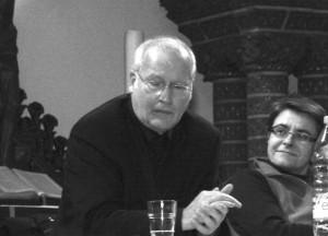 Franz Schulz und seine mutmaßliche Nachfolgerin Monika Hermann. Foto: psk