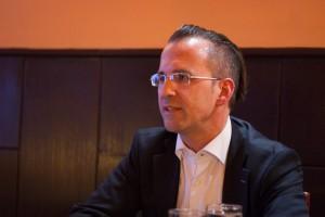 Ausnahmsweise ohne Fliege: FDP-Kandidat Helmut Metzner beim KuK-Redaktionsgespräch.  Foto: cs