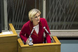 Im dritten Anlauf wurde Kristine Jaath doch noch im Amt bestätigt.  Foto: rsp