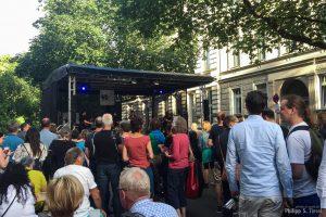 mog61-Bühne auf der Fête de la Musique