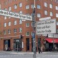Gretchen-Dutschke-Klotz-und-Rudi-Dutschke-Straße Ecke Friede-und-Axel-Cäsar-Springer-Straße