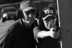 FBI-Agenten bei Schießübungen