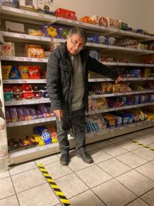 Huseyin Geyik in seinem nah&gut-Markt