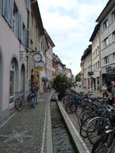 Bächle in der Freiburger Altstadt