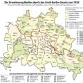 Die Erweiterung Berlins durch das Groß-Berlin-Gesetz von 1920