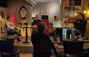 Oliver Nöll und Pascal Meiser beim Redaktionsgespräch im unterRock